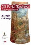 Cartel de la XII Feria Medieval Buitrago del Lozoya 2012